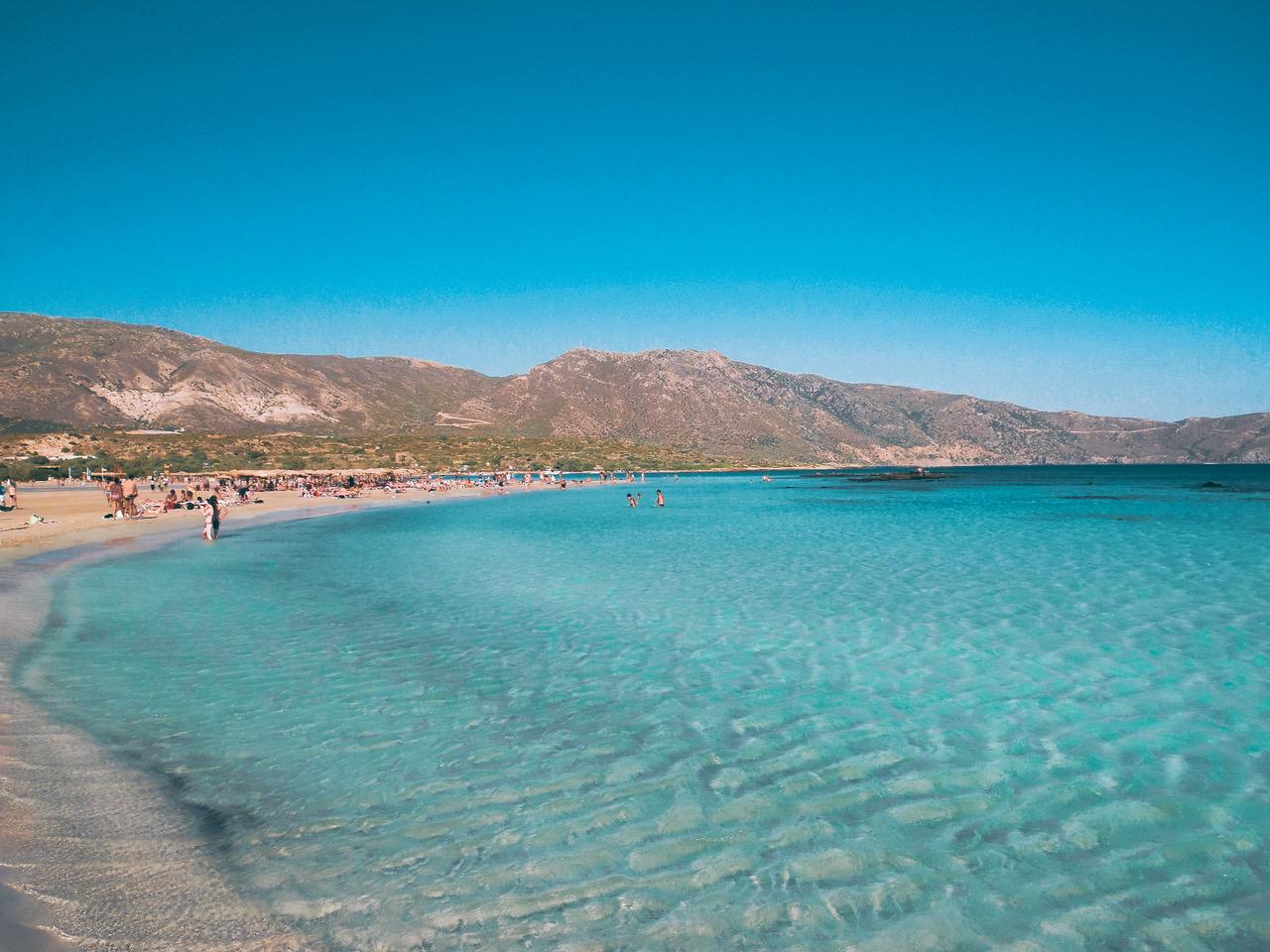 Elafonsi Beach